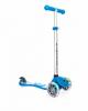Самокат Globber Primo Fantasy Lights со светящимися колёсами 120 и 80 мм голубой