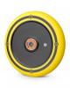 Колесо Hipe Solid Logo 120 мм для трюкового самоката (чёрно-жёлтый) арт. 321044