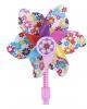 Цветочная мельница для детского самоката, велосипеда (розовый)