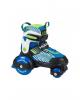 Раздвижные ролики-квады Hudora My First Quad Boy синие