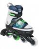 Раздвижные роликовые коньки Hudora Inline синие