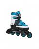 Раздвижные роликовые коньки Hudora Inline Skates Basic голубые