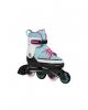 Раздвижные роликовые коньки Hudora Inline Skates Basic мятные