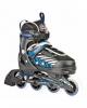 Раздвижные роликовые коньки Hudora Leon синие